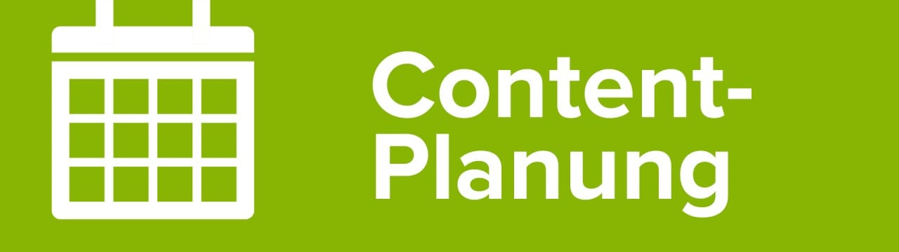Content Marketing Kampagne Planen