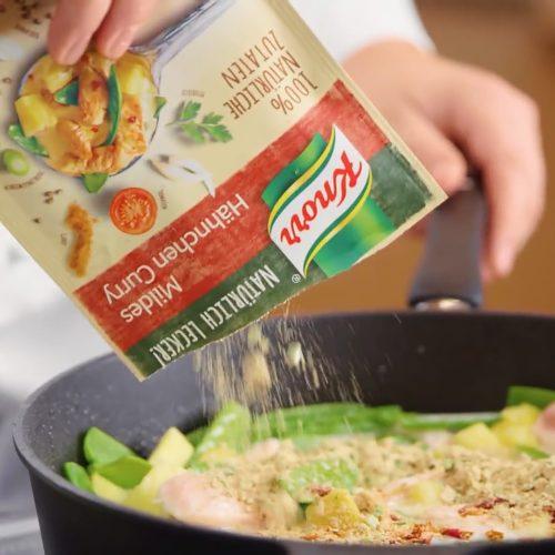Knorr Rezepte Hähnchen Curry 01