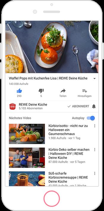 Rewe Deine Kuche Youtube Kanal Klein Aber Video Agentur